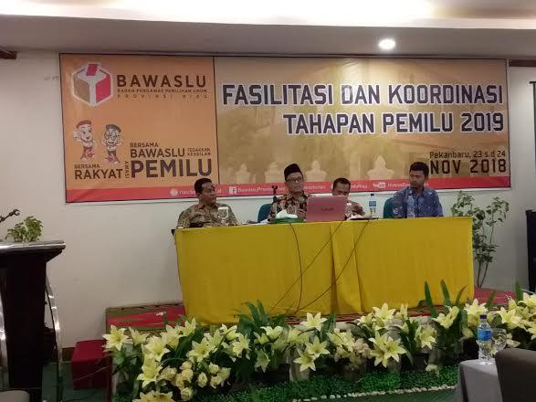 Dua Bulan Masa Kampanye, Bawaslu se-Riau Tertibkan 563 APK