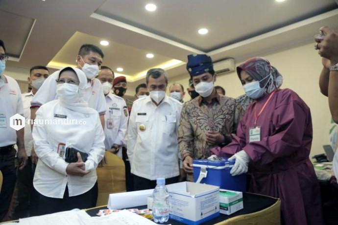 Wamenkes: Riau Bisa Jadi Percontohan Vaksinasi di Indonesia