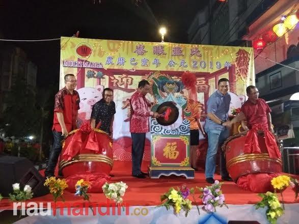 Bupati Suyatno Hadiri Perayaan Malam Imlek