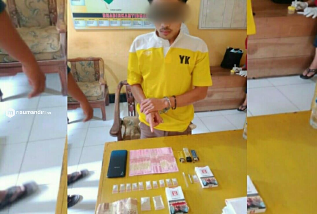 Pesan Sabu dari Pekanbaru, Pemuda di Pelalawan Diringkus Polisi