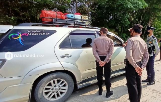 Tak Bawa Hasil Tes Covid, 1.308 Kendaraan di Riau Dipaksa Putar Balik