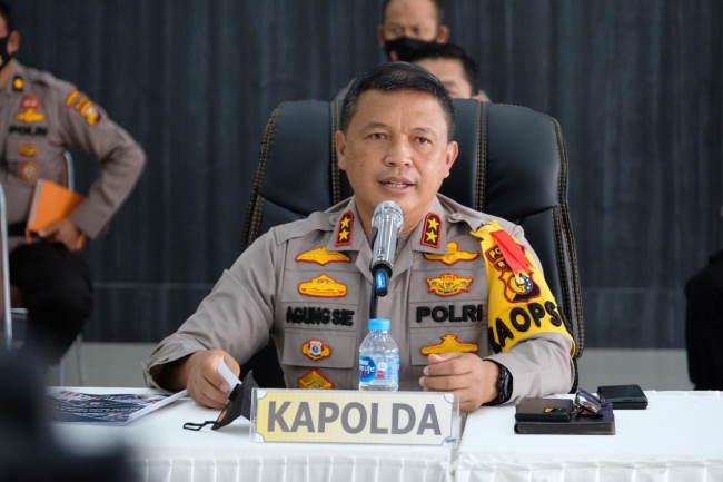 Kapolda Agung Gelisah Gegara Kasus Corona Riau Ranking Satu se-Sumatra