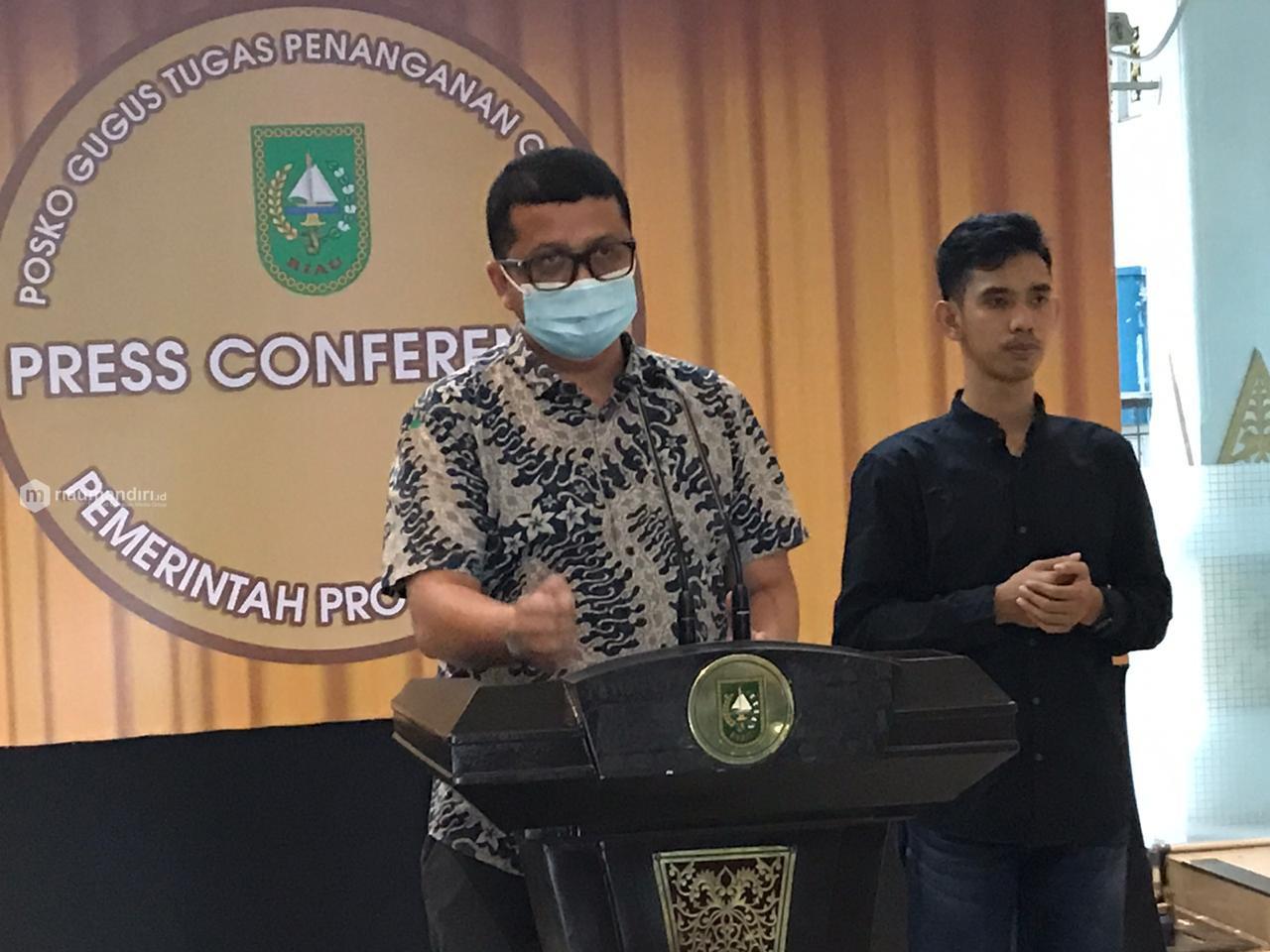 Bertambah Lagi 3 Pasien Positif Corona di Riau, Warga Pekanbaru dan Dumai