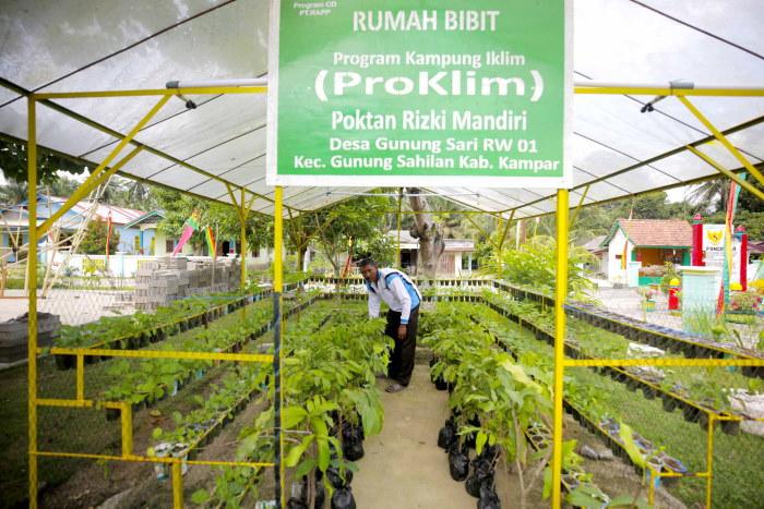 Tiga Desa Binaan RAPP Raih Trofi Proklim