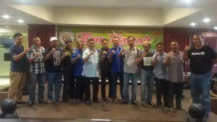 12 Pengcab PSTI dan Mantan Pemain Timnas Dukung Amri Yahya Jadi Ketua PSTI Riau