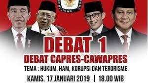 Timses Jokowi dan Prabowo Setuju Format Debat Capres