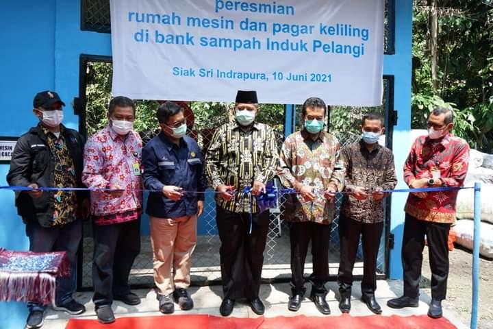 Bupati Siak Targetkan Pengurangan Limbah Sampah 30 Persen Tahun 2025