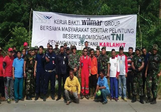 Wilmar-TNI Gelar Goro Bersama
