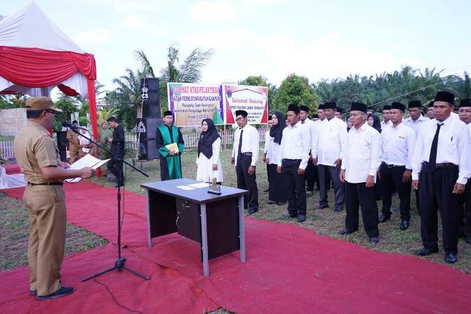 Anggota Bapekam 4 Kampung di Siak Resmi Dilantik