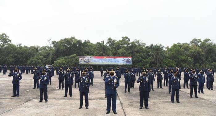 Hari Bakti TNI AU ke-73 di Pekanbaru, KSAU: Prajurit TNI AU Harus Mampu Berjuang dan Mengabdi