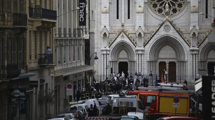 Sebut Sebagai Aksi Teror, Indonesia Kecam Penyerangan di Gereja Nice Prancis