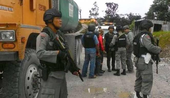Polisi Temukan Foto Penembakan Mobil Brimob di Ponsel Anggota KKB Papua