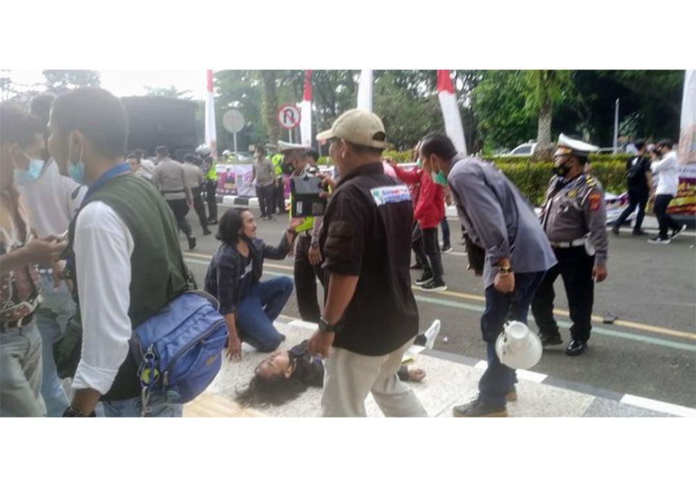 Polisi 'Smackdown' Mahasiswa hingga Kejang-Kejang, Kapolres: Tidak Ada Kekerasan