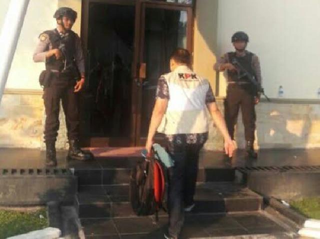 Ini Keterangan KPK Terkait Penggeledahan di DPRD Bengkalis