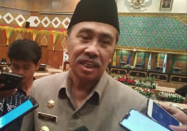 Syamsuar ke Pimpinan DPRD Riau: Kita Mempunyai Visi yang Sama