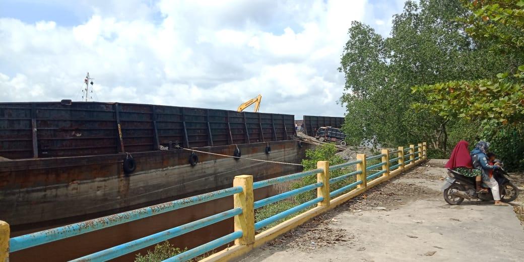 Ada Dugaan Aktivitas Bongkar Muat Ilegal di Kolam Hijau Siak