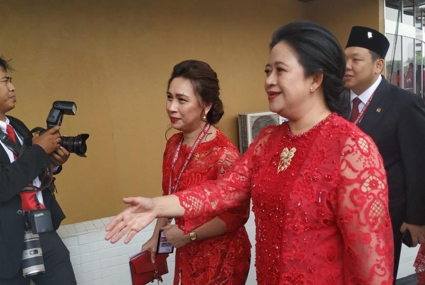 Malam Ini Puan Maharani Dilantik Sebagai Ketua DPR RI