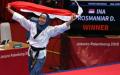 Rosmaniar Defia Sumbang Emas Pertama untuk Indonesia di Asian Games 2018