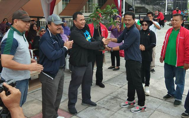 Dari PWI Riau Go Green Together Hingga Door Prize ke Hongkong