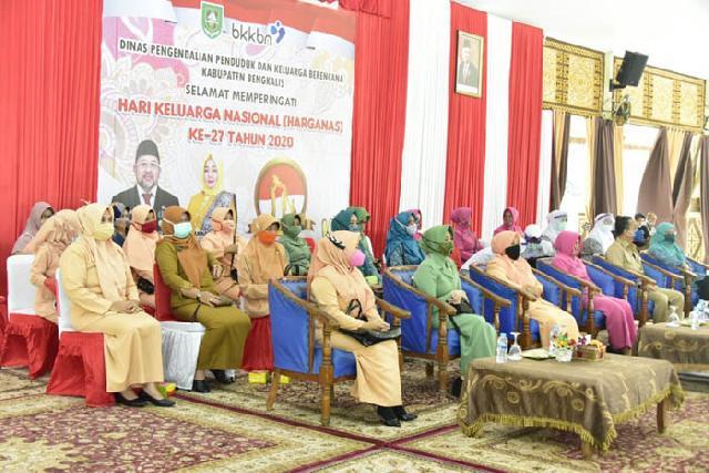 Disdalduk-KB Bengkalis Ikuti Peringatan Harganas Tingkat Provinsi Riau