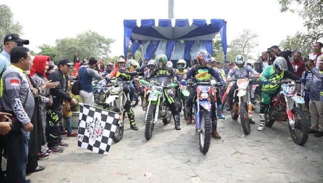 JRR 2019, Bupati Sukiman Lepas 834 Rider